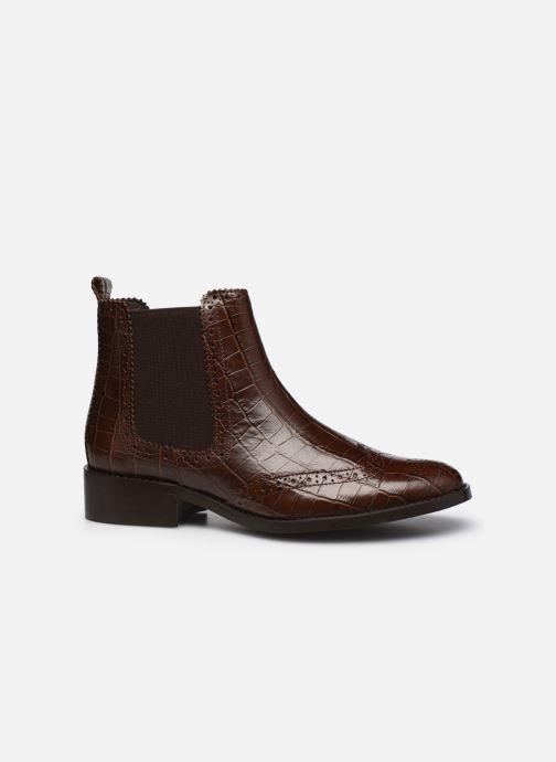 Stiefeletten & Boots COSMOPARIS FLORENCIA braun ansicht von hinten