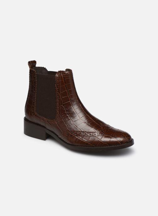 Stiefeletten & Boots COSMOPARIS FLORENCIA braun detaillierte ansicht/modell