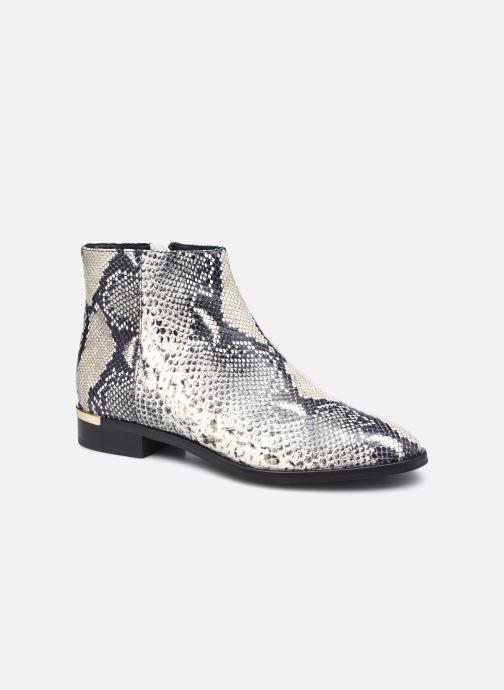 Boots en enkellaarsjes COSMOPARIS EBOME Wit detail