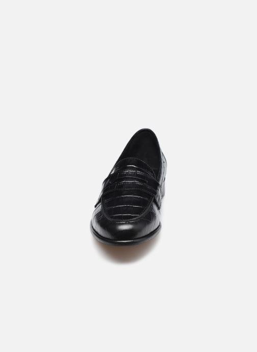 Mocassins COSMOPARIS VALALA Noir vue portées chaussures