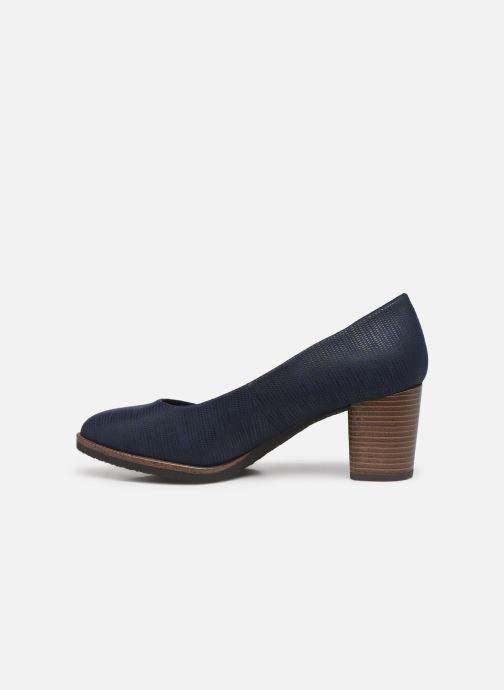Zapatos de tacón Marco Tozzi Erven Azul vista de frente