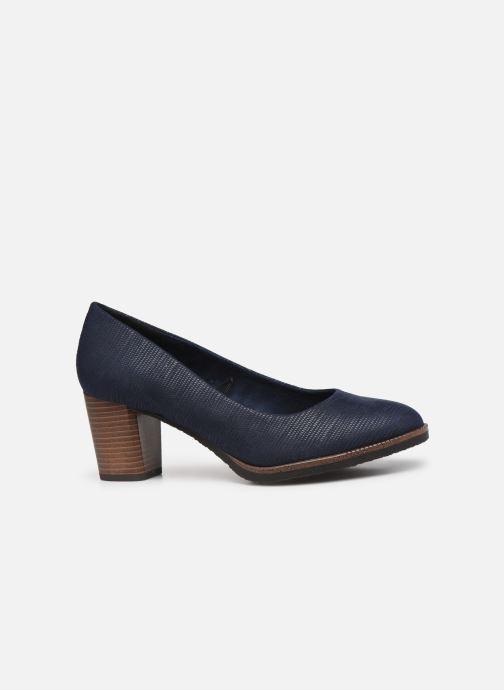 Zapatos de tacón Marco Tozzi Erven Azul vistra trasera