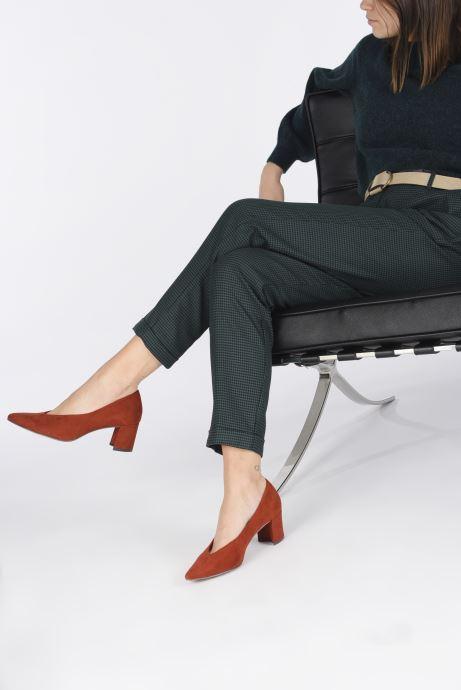 Zapatos de tacón Marco Tozzi Elize Rojo vista de abajo