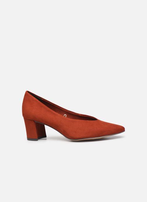 Zapatos de tacón Marco Tozzi Elize Rojo vistra trasera
