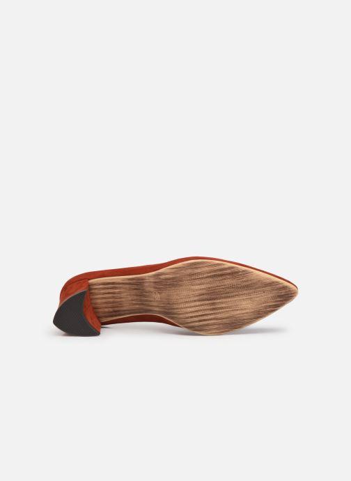 Zapatos de tacón Marco Tozzi Elize Rojo vista de arriba