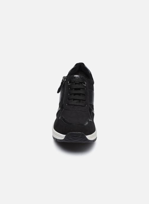 Baskets Marco Tozzi Briana Noir vue portées chaussures