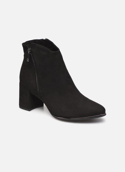 Boots en enkellaarsjes Marco Tozzi Estila Zwart detail