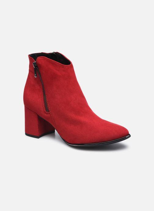Bottines et boots Marco Tozzi Estila Rouge vue détail/paire