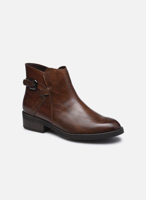 Boots en enkellaarsjes Marco Tozzi Bedia Bruin detail