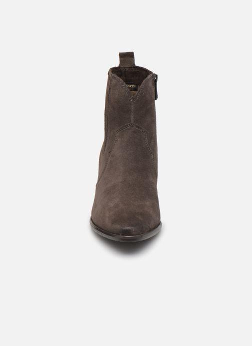 Stiefeletten & Boots Marco Tozzi Aelys grau schuhe getragen