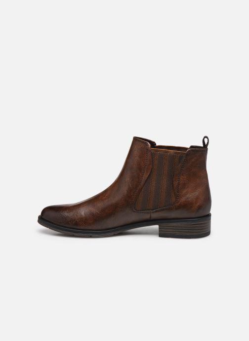 Bottines et boots Marco Tozzi Norma Marron vue face