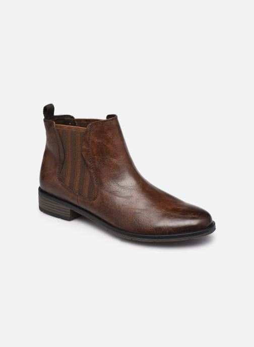 Bottines et boots Marco Tozzi Norma Marron vue détail/paire