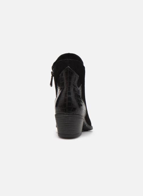 Boots en enkellaarsjes Marco Tozzi Adya Zwart rechts