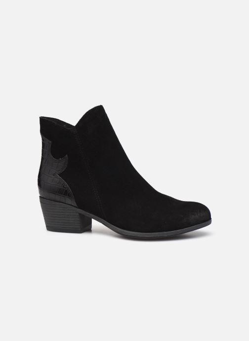 Boots en enkellaarsjes Marco Tozzi Adya Zwart achterkant