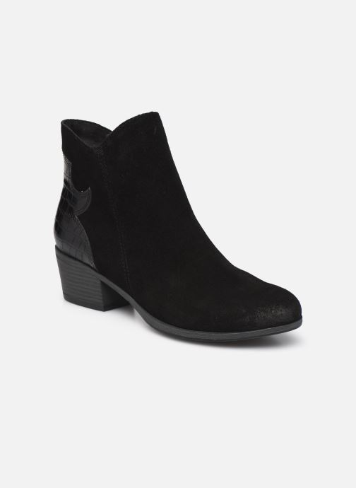 Boots en enkellaarsjes Marco Tozzi Adya Zwart detail