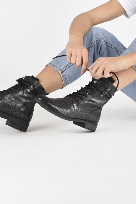 Bottines et boots Marco Tozzi Annae Gris vue bas / vue portée sac