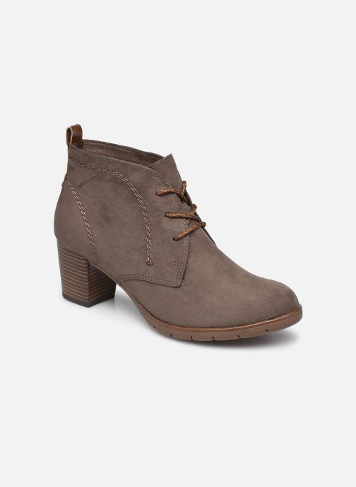 Bottines et boots Marco Tozzi Alma Gris vue détail/paire