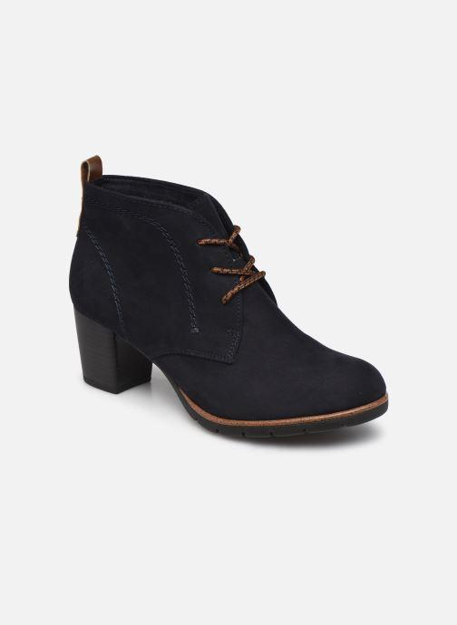 Bottines et boots Marco Tozzi Alma Bleu vue détail/paire