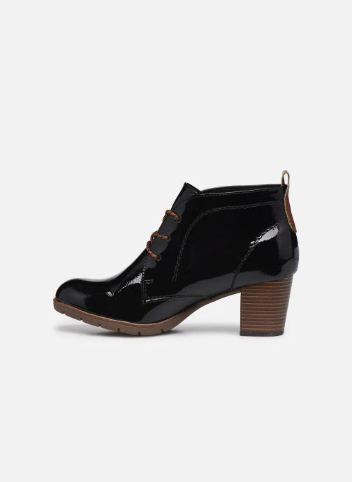 Boots en enkellaarsjes Marco Tozzi Anouk Zwart voorkant