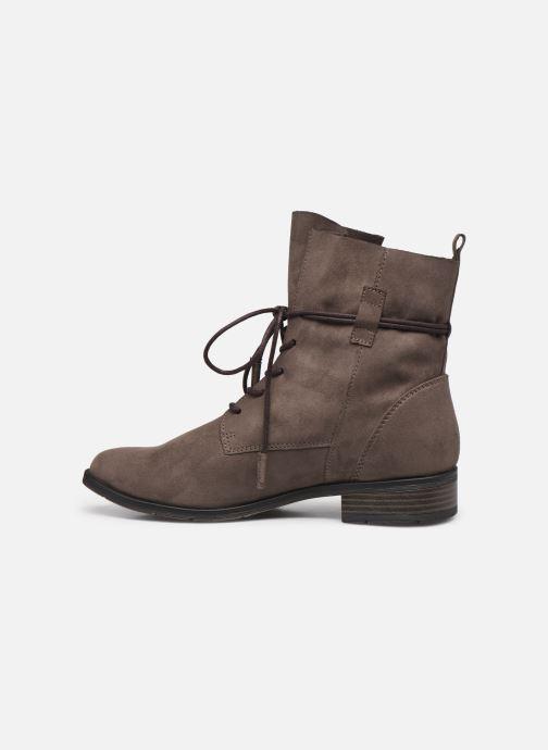 Boots en enkellaarsjes Marco Tozzi Dafni Grijs voorkant