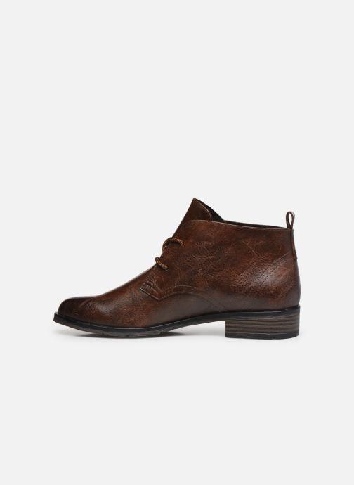 Bottines et boots Marco Tozzi Dado Marron vue face