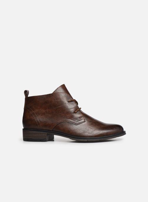 Boots en enkellaarsjes Marco Tozzi Dado Bruin achterkant