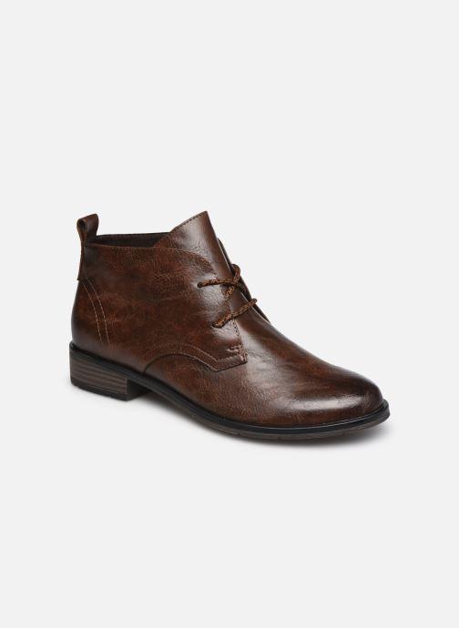 Bottines et boots Marco Tozzi Dado Marron vue détail/paire