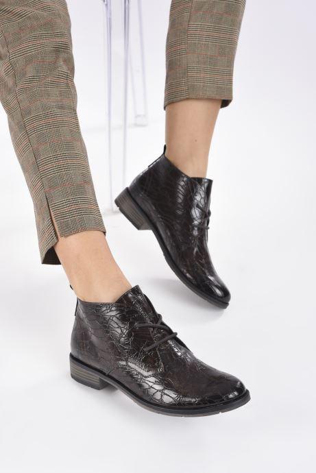 Bottines et boots Marco Tozzi Dado Marron vue bas / vue portée sac