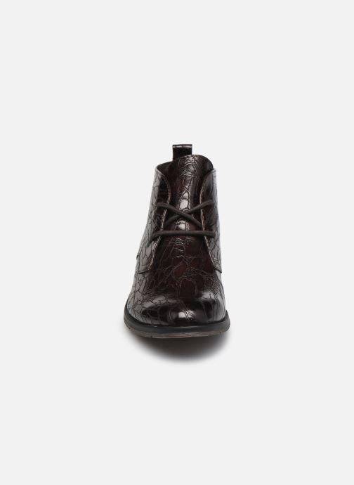 Bottines et boots Marco Tozzi Dado Marron vue portées chaussures
