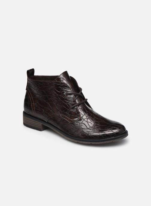 Boots en enkellaarsjes Marco Tozzi Dado Bruin detail