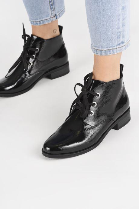 Bottines et boots Marco Tozzi Elaia Noir vue bas / vue portée sac