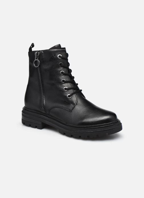 Boots en enkellaarsjes Marco Tozzi Essya Zwart detail