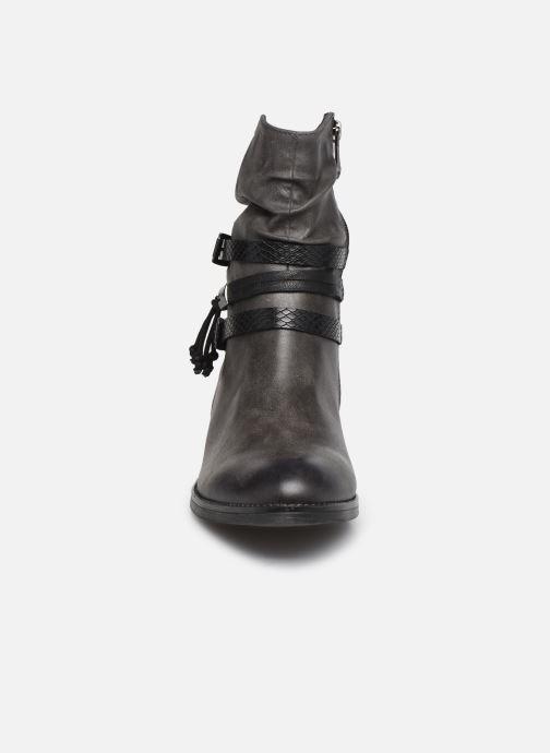 Bottines et boots Marco Tozzi Ewana Gris vue portées chaussures