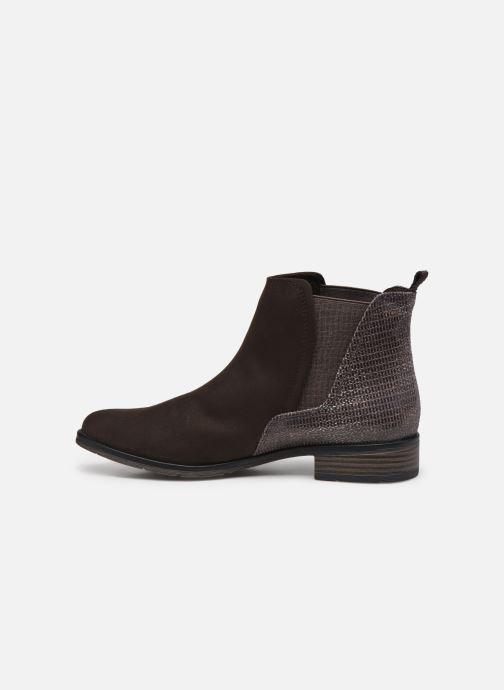 Bottines et boots Marco Tozzi Jalya Marron vue face