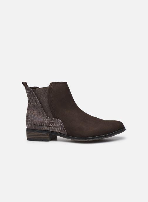 Bottines et boots Marco Tozzi Jalya Marron vue derrière