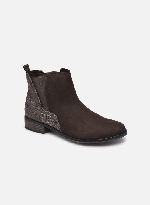 Bottines et boots Marco Tozzi Jalya Marron vue détail/paire