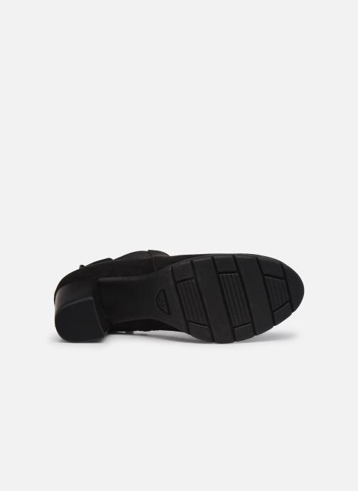 Bottines et boots Marco Tozzi Kiara Noir vue haut