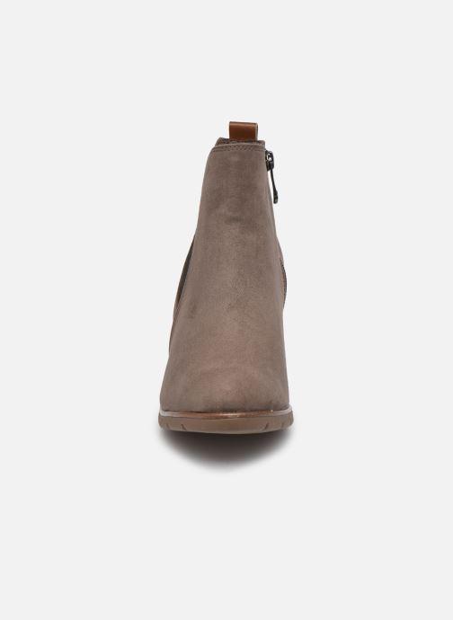 Bottines et boots Marco Tozzi Kiara Gris vue portées chaussures