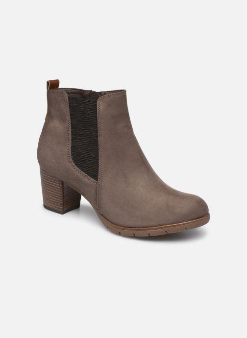 Bottines et boots Marco Tozzi Kiara Gris vue détail/paire
