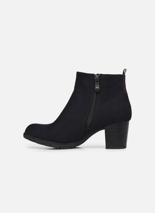 Bottines et boots Marco Tozzi Kiara Bleu vue face