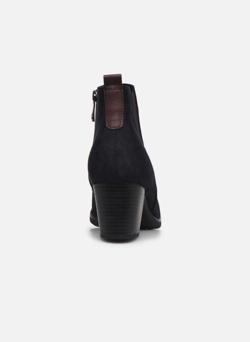 Bottines et boots Marco Tozzi Kiara Bleu vue droite