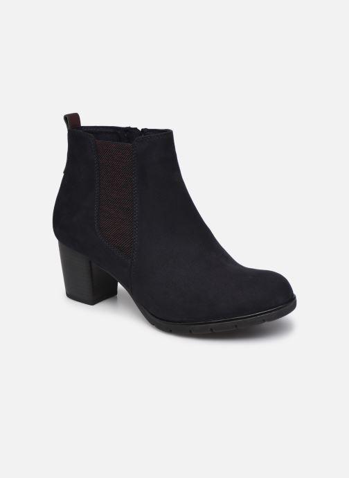 Bottines et boots Marco Tozzi Kiara Bleu vue détail/paire