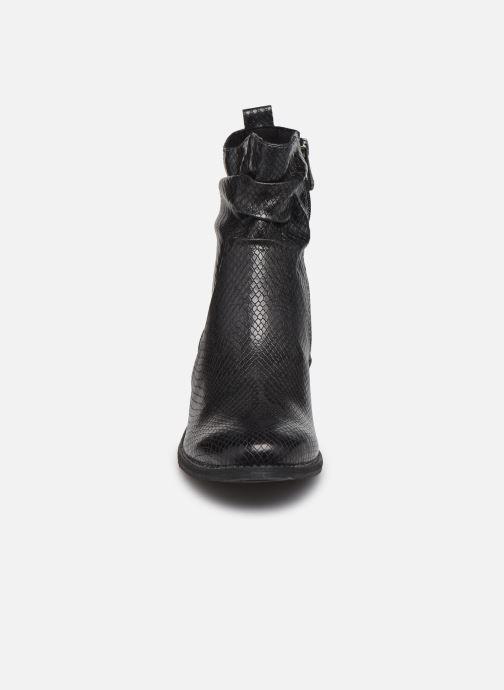 Stiefeletten & Boots Marco Tozzi Liona grau schuhe getragen