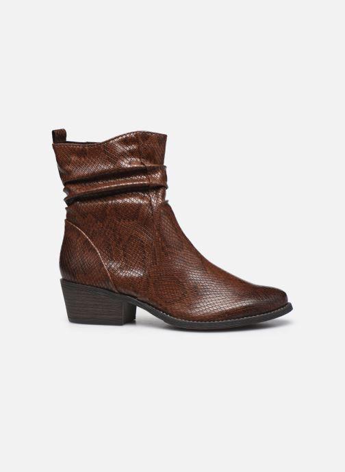 Boots en enkellaarsjes Marco Tozzi Liona Bruin achterkant