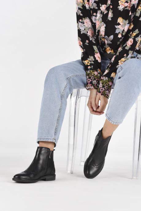 Bottines et boots Marco Tozzi Fazle Noir vue bas / vue portée sac