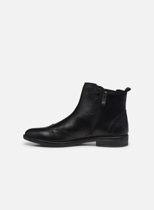 Bottines et boots Marco Tozzi Fazle Noir vue face