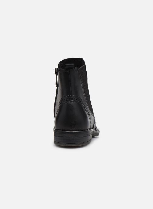 Bottines et boots Marco Tozzi Fazle Noir vue droite