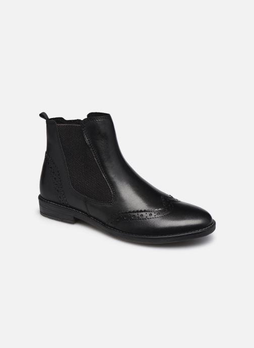 Bottines et boots Marco Tozzi Fazle Noir vue détail/paire