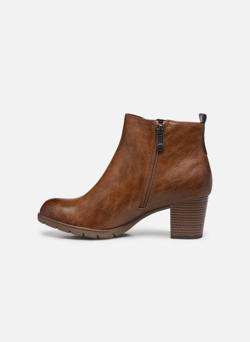 Bottines et boots Marco Tozzi Yukila Marron vue face