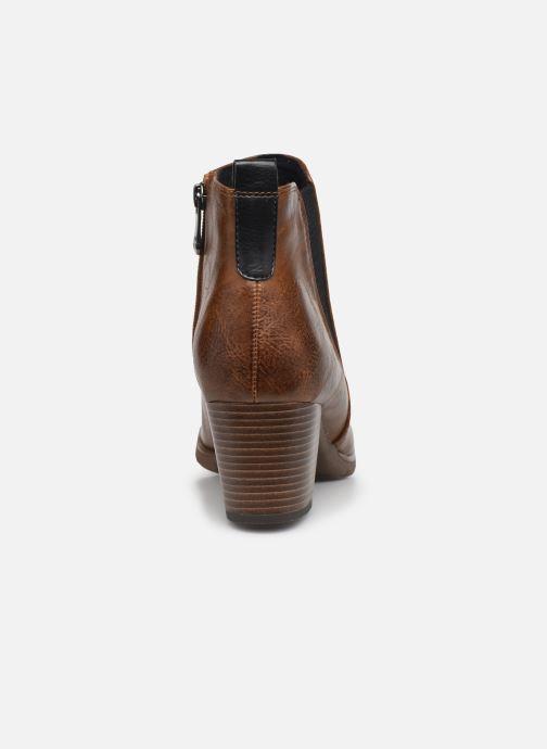 Bottines et boots Marco Tozzi Yukila Marron vue droite